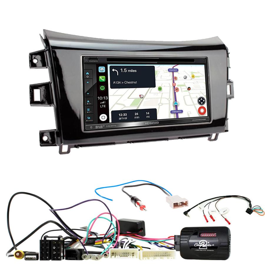 Kit d\'intégration Nissan Navara et NP300 depuis 2015 + Autoradio tactile Navigation GPS