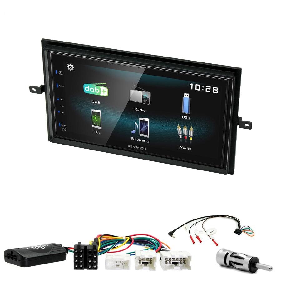 Kit d\'intégration Nissan Navara et Pathfinder de 2005 à 2013 + Autoradio multimédia à écran tactile