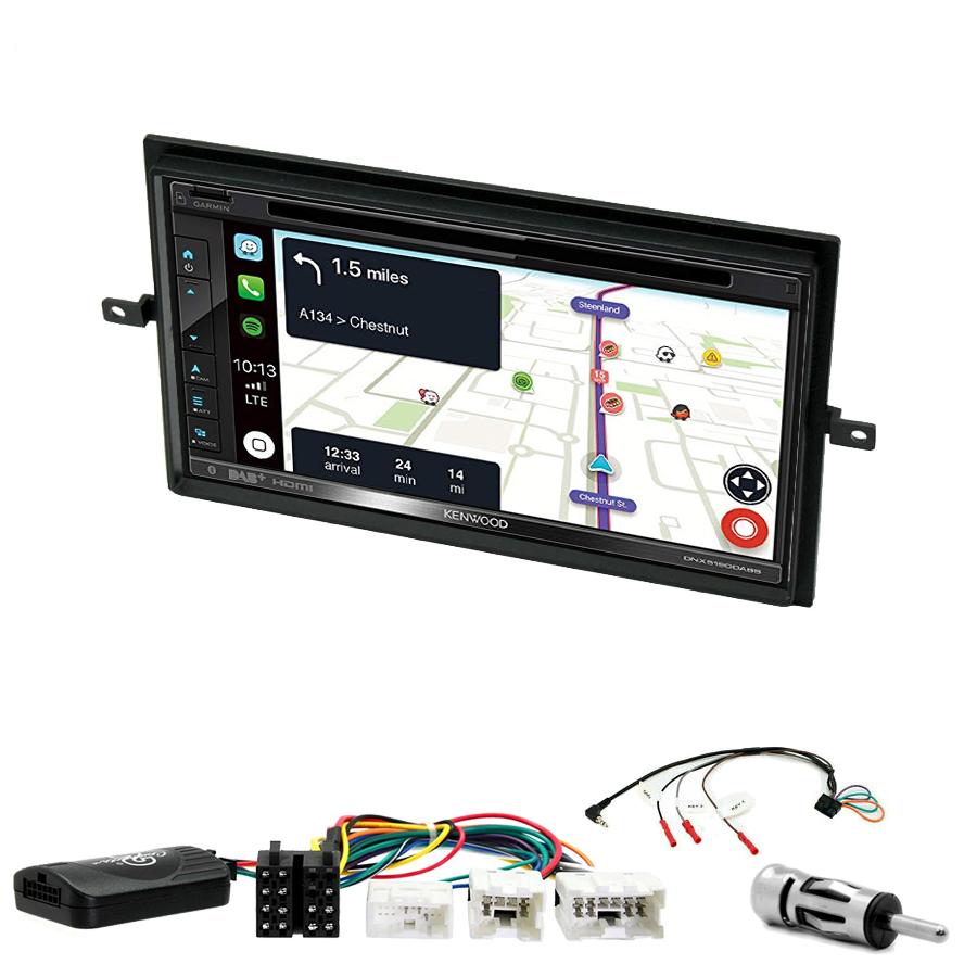 Kit d\'intégration Nissan Navara et Pathfinder de 2005 à 2013 + Autoradio tactile Navigation GPS