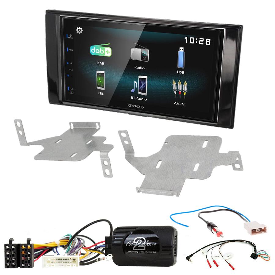 Kit d\'intégration Nissan Juke de 05/2014 à 2019 + Autoradio multimédia à écran tactile