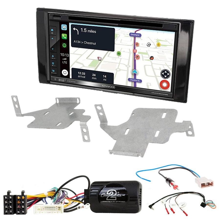 Kit d\'intégration Nissan Juke de 05/2014 à 2019 + Autoradio tactile Navigation GPS