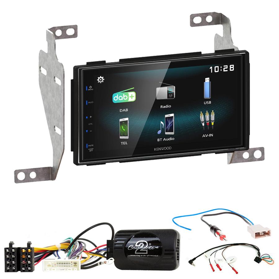 Kit d\'intégration Nissan Juke de 10/2010 à 05/2014 + Autoradio multimédia à écran tactile