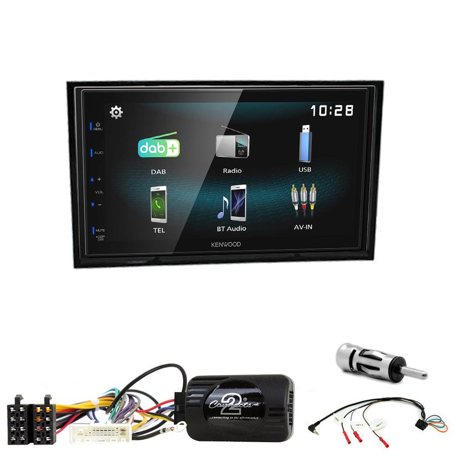 Kit d\'intégration Nissan Cube de 2009 à 2020 + Autoradio multimédia à écran tactile