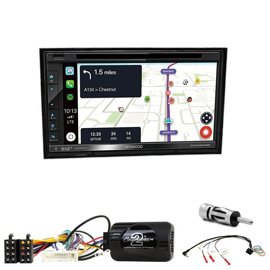 Kit d\'intégration Nissan Cube de 2009 à 2020 + Autoradio tactile Navigation GPS