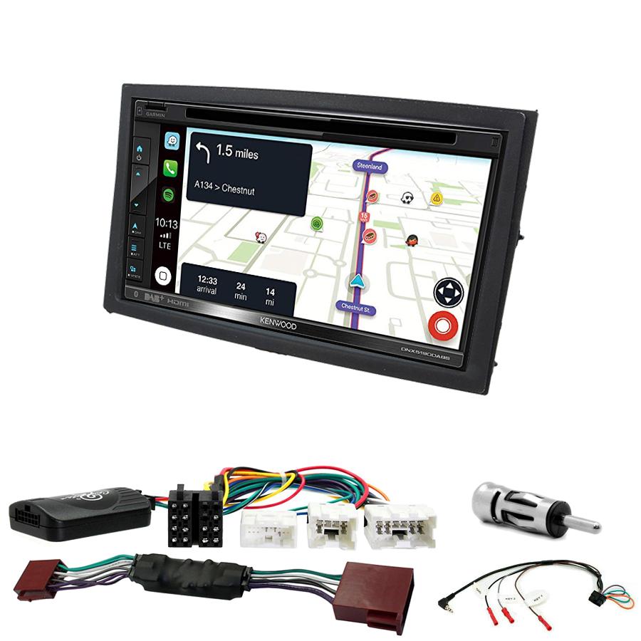 Kit d\'intégration Nissan 350Z + Autoradio tactile Navigation GPS