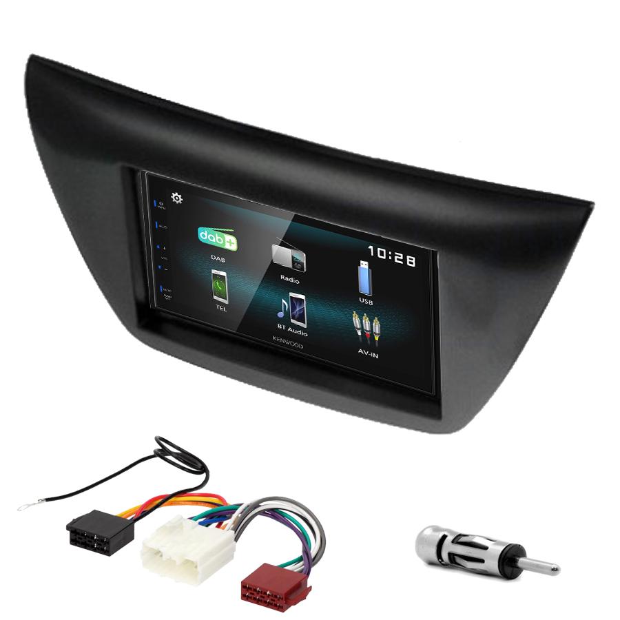 Kit d\'intégration Mitsubishi Lancer de 2004 à 2008 + Autoradio multimédia à écran tactile