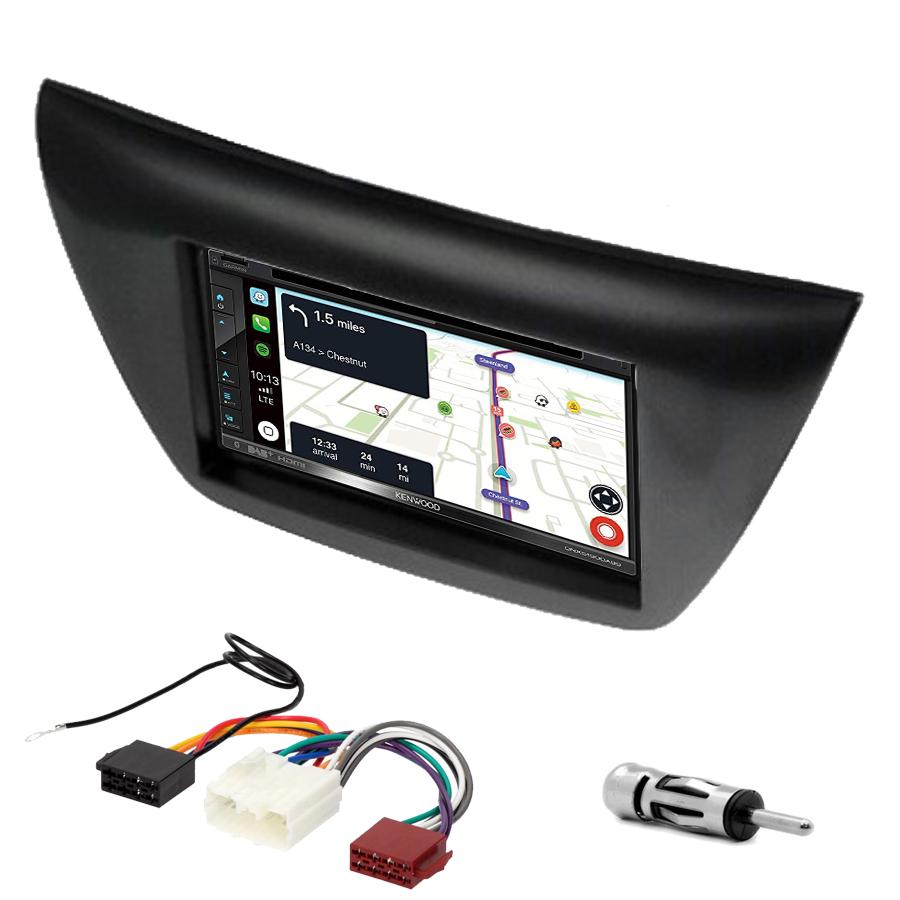 Kit d\'intégration Mitsubishi Lancer de 2004 à 2008 + Autoradio tactile Navigation GPS