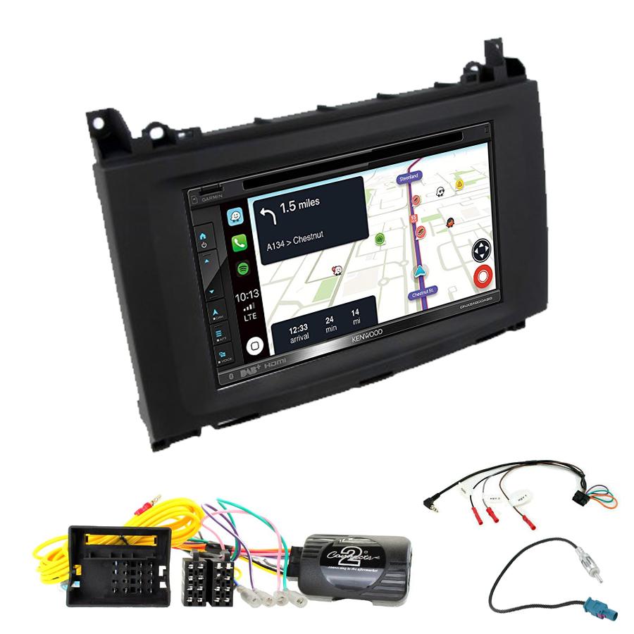 Kit d\'intégration Mercedes Sprinter et Vito de 2015 à 2019 + Autoradio tactile Navigation GPS