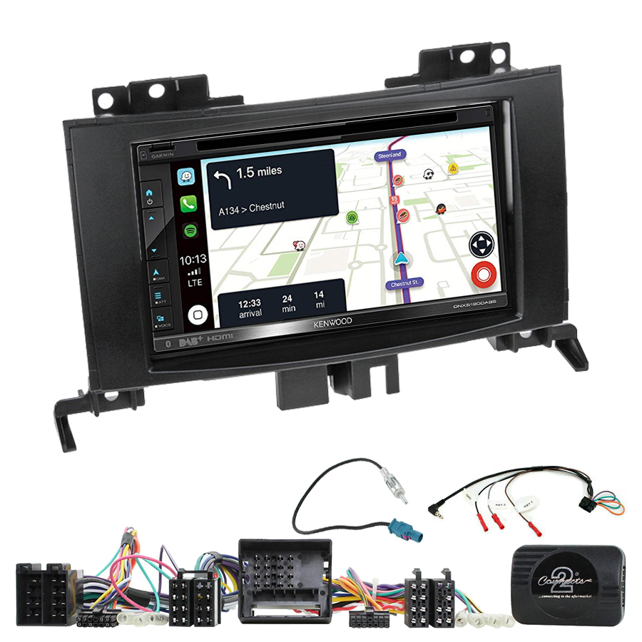 Kit d\'intégration Mercedes Sprinter de 04/2006 à 2014 + Autoradio tactile Navigation GPS