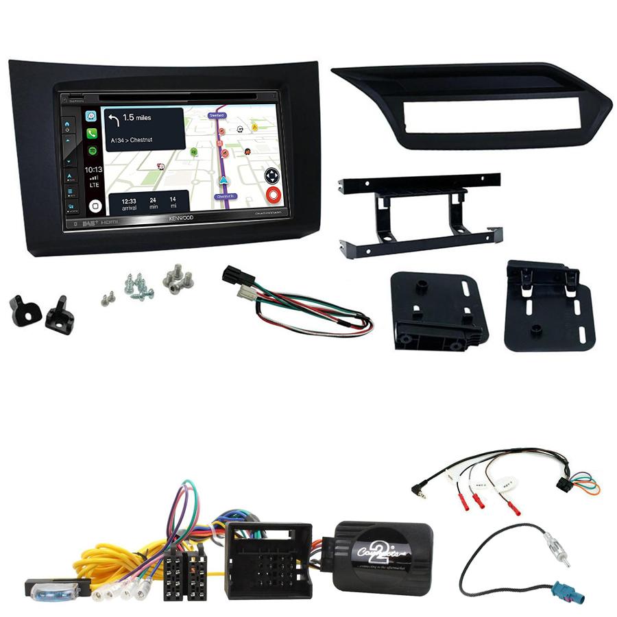 Kit d\'intégration Mercedes Classe E de 2009 à 2012 + Autoradio tactile Navigation GPS