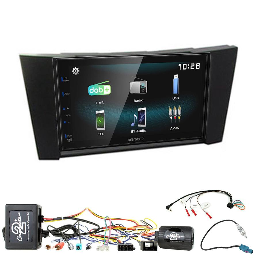 Kit d\'intégration Mercedes Classe E et Mercedes CLS + Autoradio multimédia à écran tactile