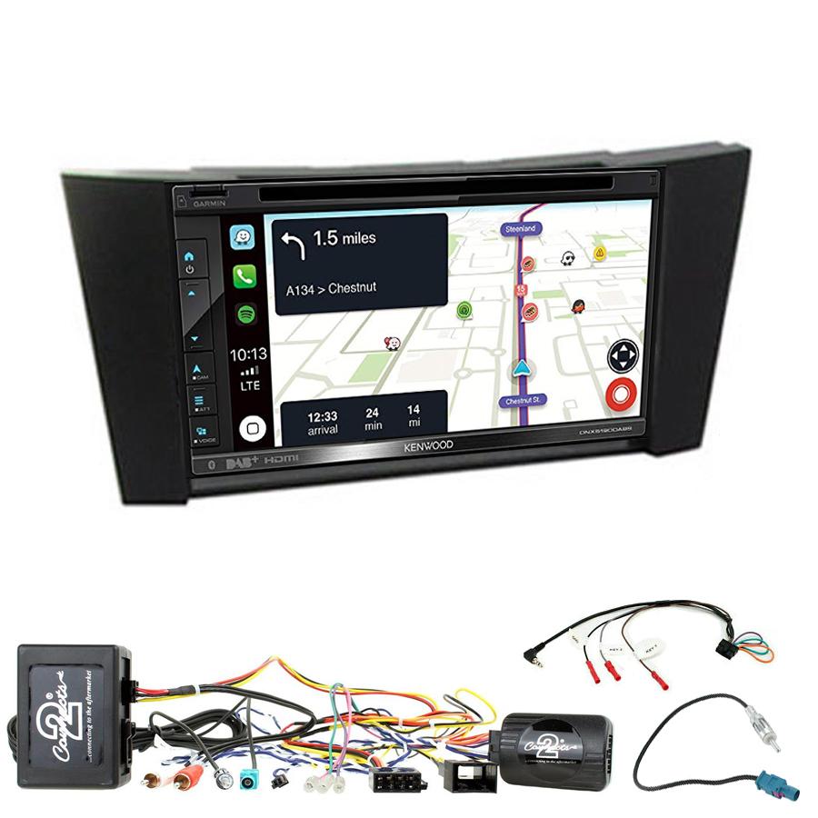 Kit d\'intégration Mercedes Classe E et Mercedes CLS + Autoradio tactile Navigation GPS