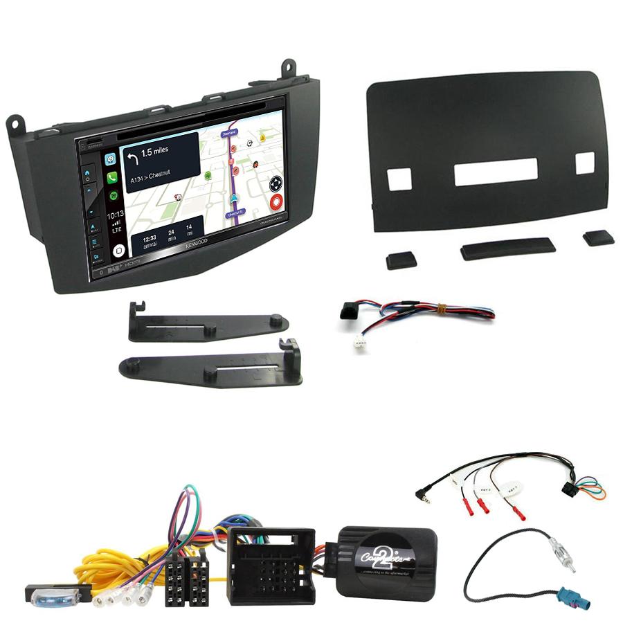 Kit d\'intégration Mercedes Classe C W204 de 03/2007 à 02/2011 + Autoradio tactile Navigation GPS