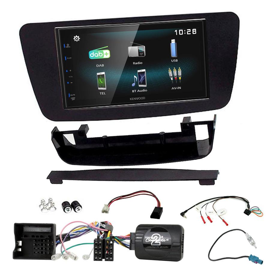 Kit d\'intégration Mercedes Classe A, CLA et GLA + Autoradio multimédia à écran tactile