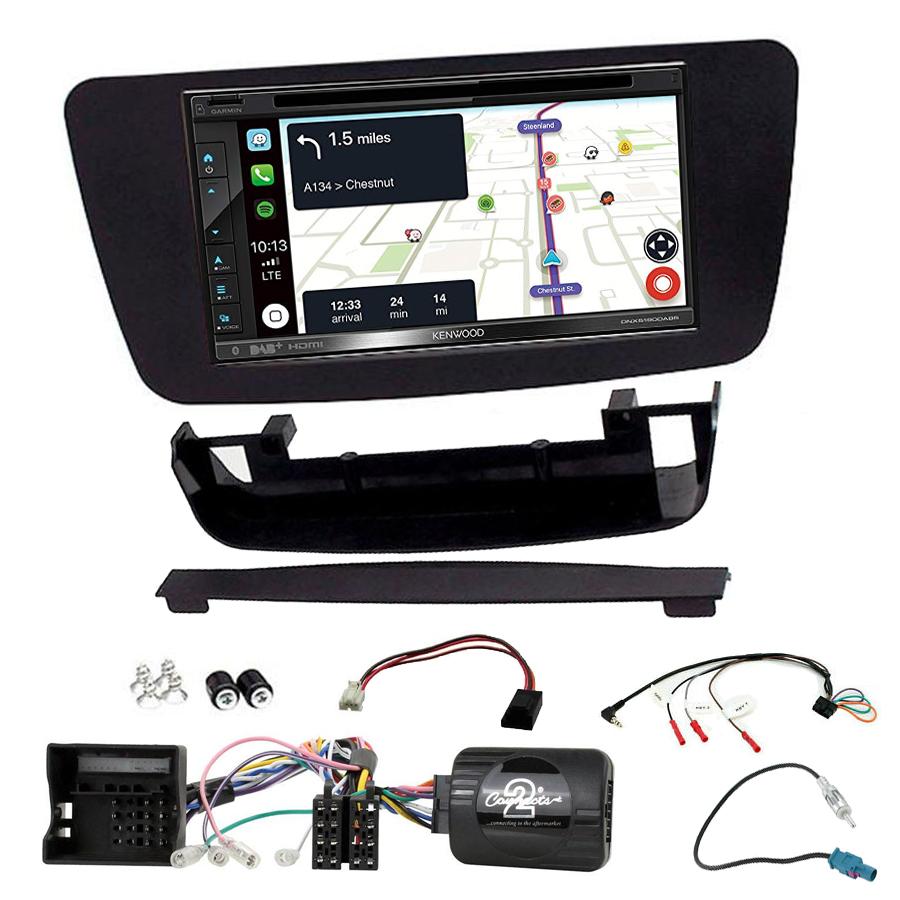 Kit d\'intégration Mercedes Classe A, CLA et GLA + Autoradio tactile Navigation GPS