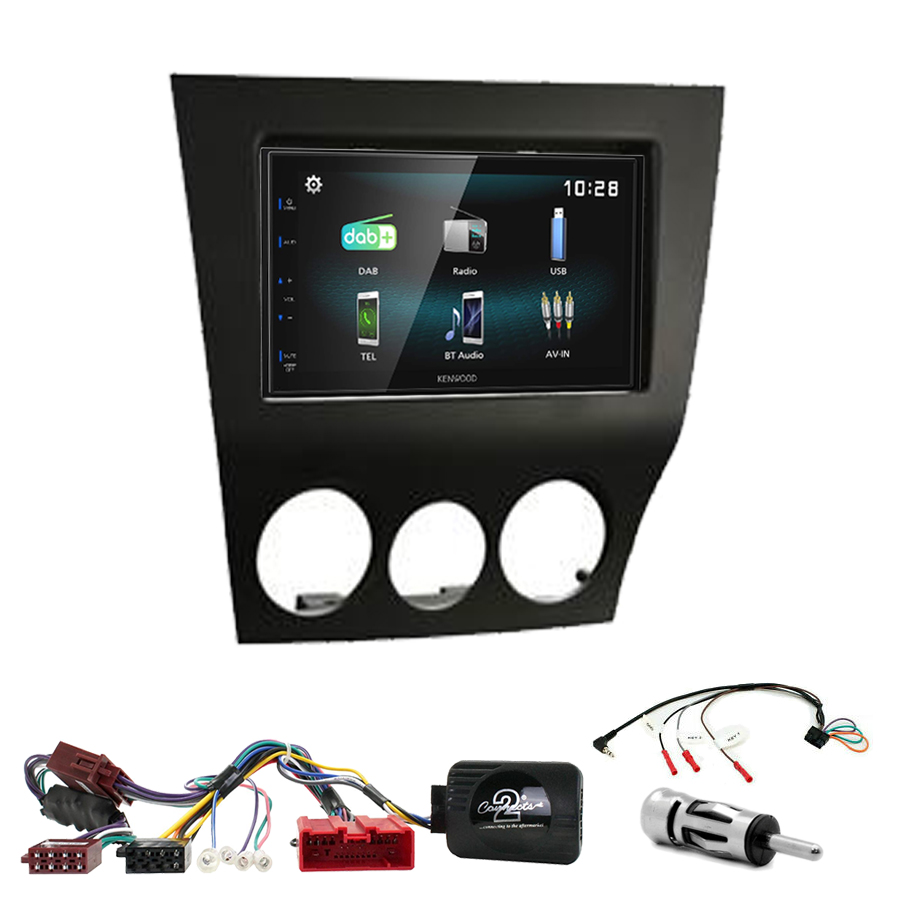 Kit d\'intégration Mazda RX-8 de 2009 à 2011 + Autoradio multimédia à écran tactile