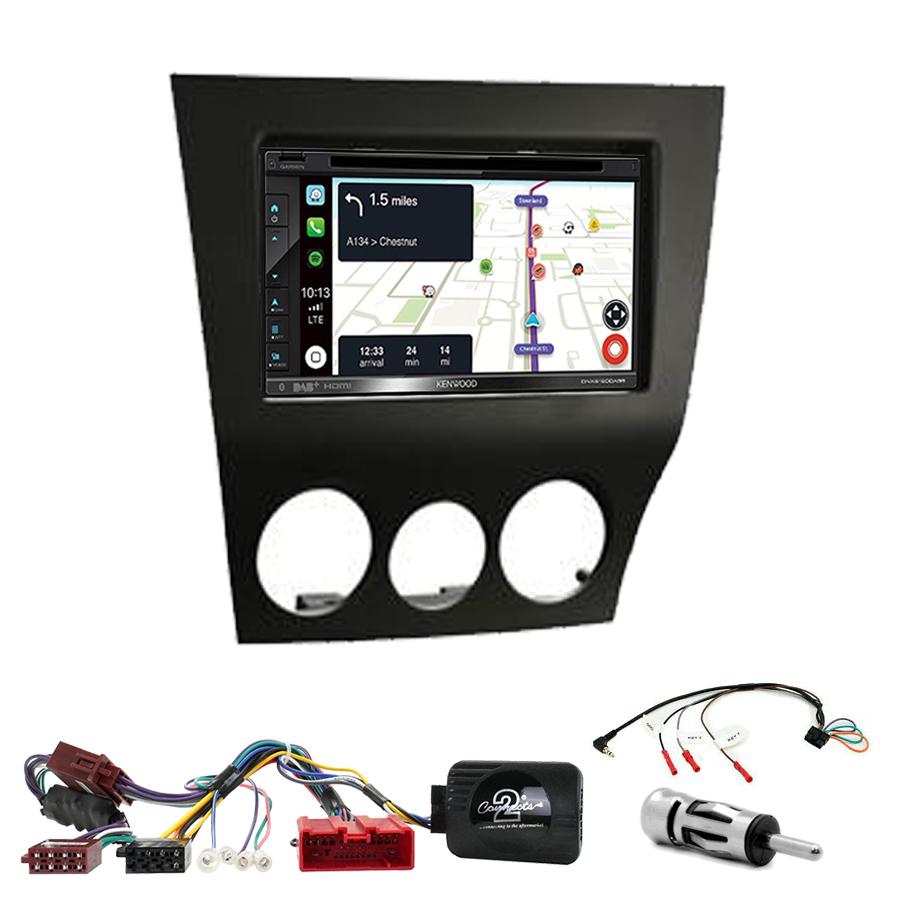 Kit d\'intégration Mazda RX-8 de 2009 à 2011 + Autoradio tactile Navigation GPS