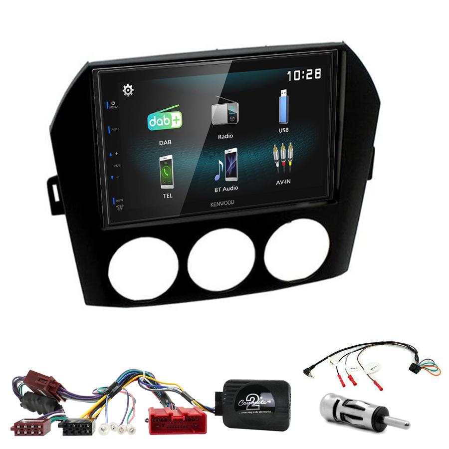 Kit d\'intégration Mazda MX-5 de 2005 à 2015 + Autoradio multimédia à écran tactile