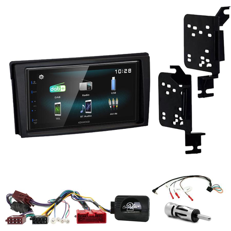 Kit d\'intégration Mazda MPV de 2000 à 2006 + Autoradio multimédia à écran tactile