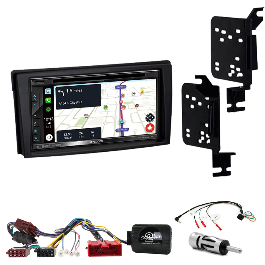 Kit d\'intégration Mazda MPV de 2000 à 2006 + Autoradio tactile Navigation GPS