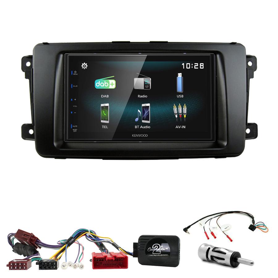 Kit d\'intégration Mazda CX-9 de 2007 à 2015 + Autoradio multimédia à écran tactile