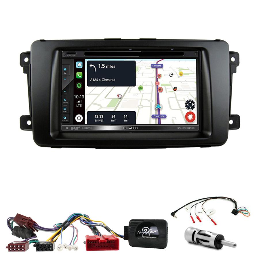 Kit d\'intégration Mazda CX-9 de 2007 à 2015 + Autoradio tactile Navigation GPS
