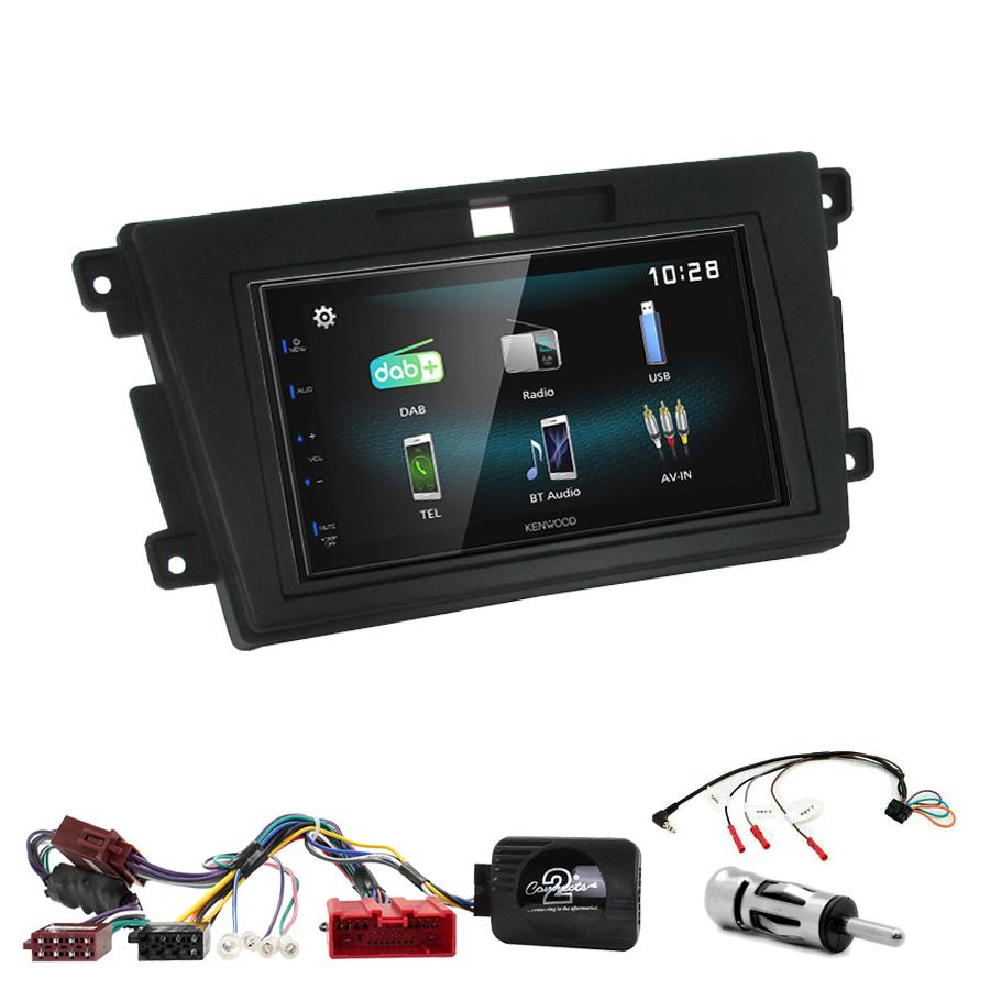 Kit d\'intégration Mazda CX-7 de 2007 à 2012 + Autoradio multimédia à écran tactile