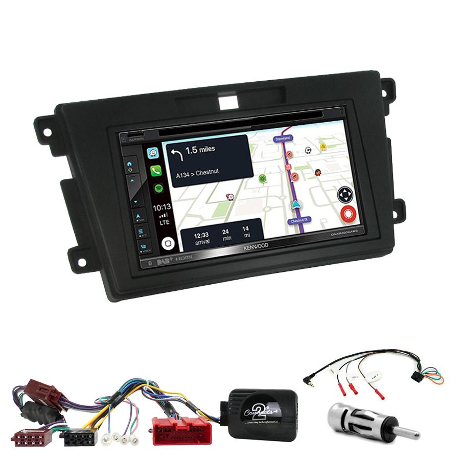 Kit d\'intégration Mazda CX-7 de 2007 à 2012 + Autoradio tactile Navigation GPS