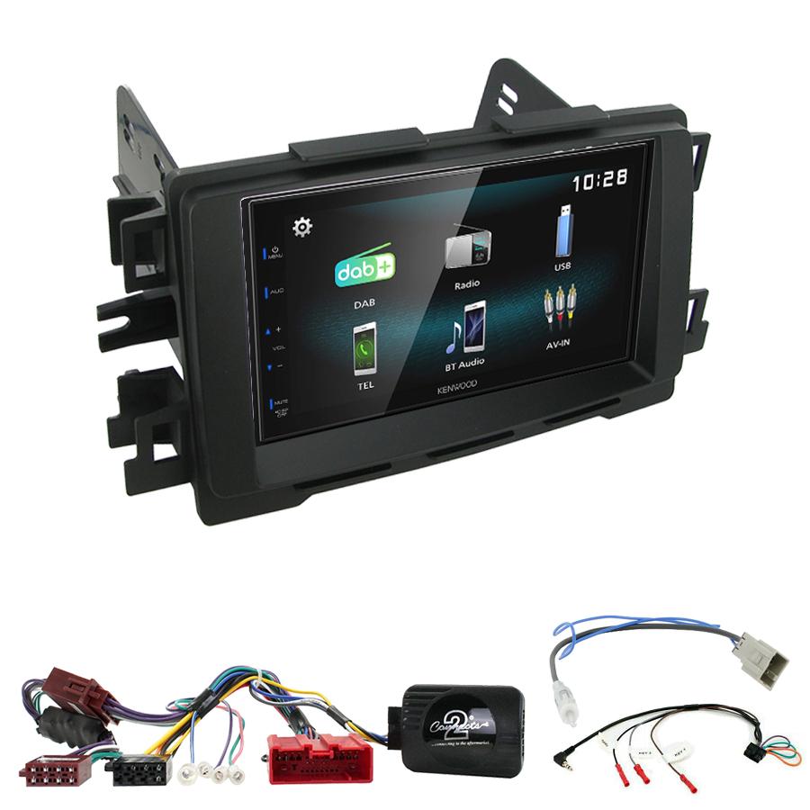 Kit d\'intégration Mazda 6 et CX-5 de 2012 à 2017 + Autoradio multimédia à écran tactile