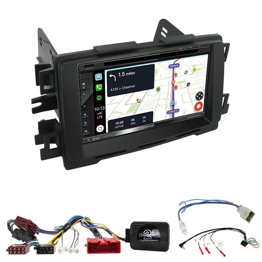 Kit d\'intégration Mazda 6 et CX-5 de 2012 à 2017 + Autoradio tactile Navigation GPS