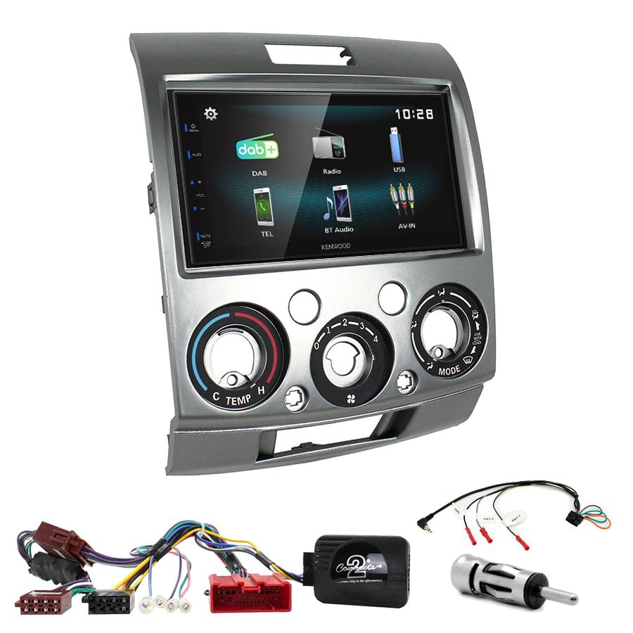 Kit d\'intégration Ford Ranger de 2007 à 2011 + Autoradio multimédia à écran tactile