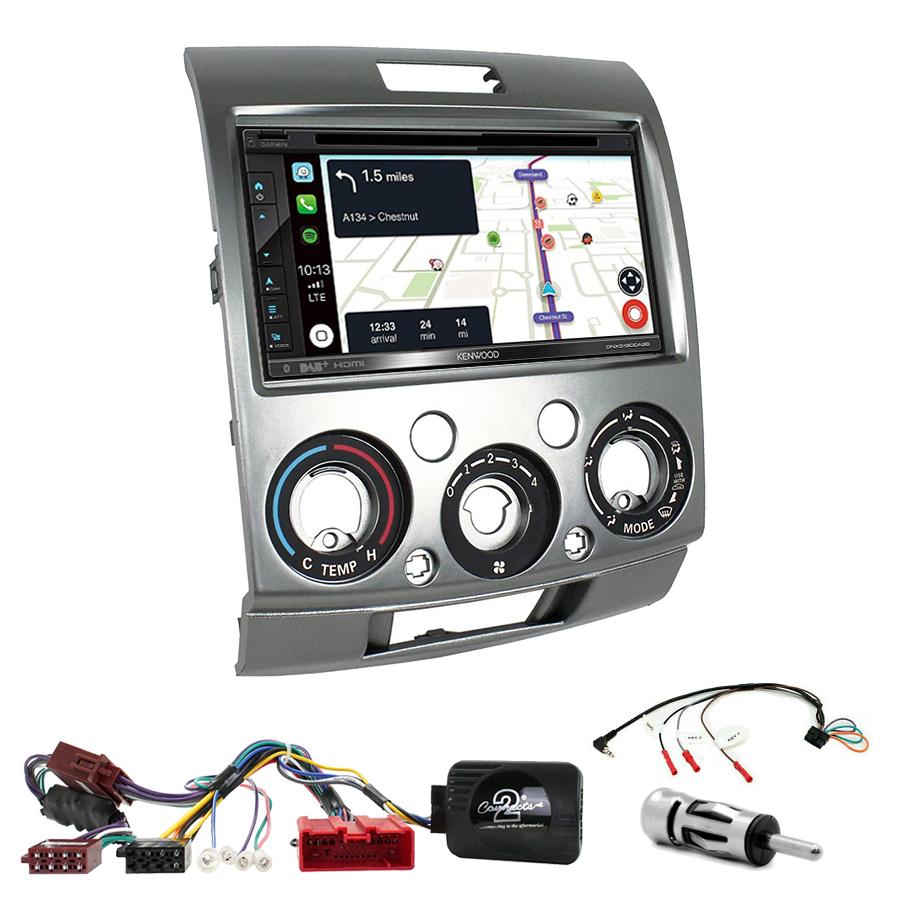 Kit d\'intégration Ford Ranger de 2007 à 2011 + Autoradio tactile Navigation GPS