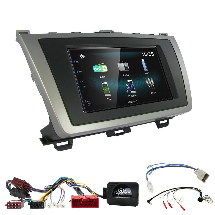 Kit d\'intégration Mazda 6 de 2008 à 2012 + Autoradio multimédia à écran tactile