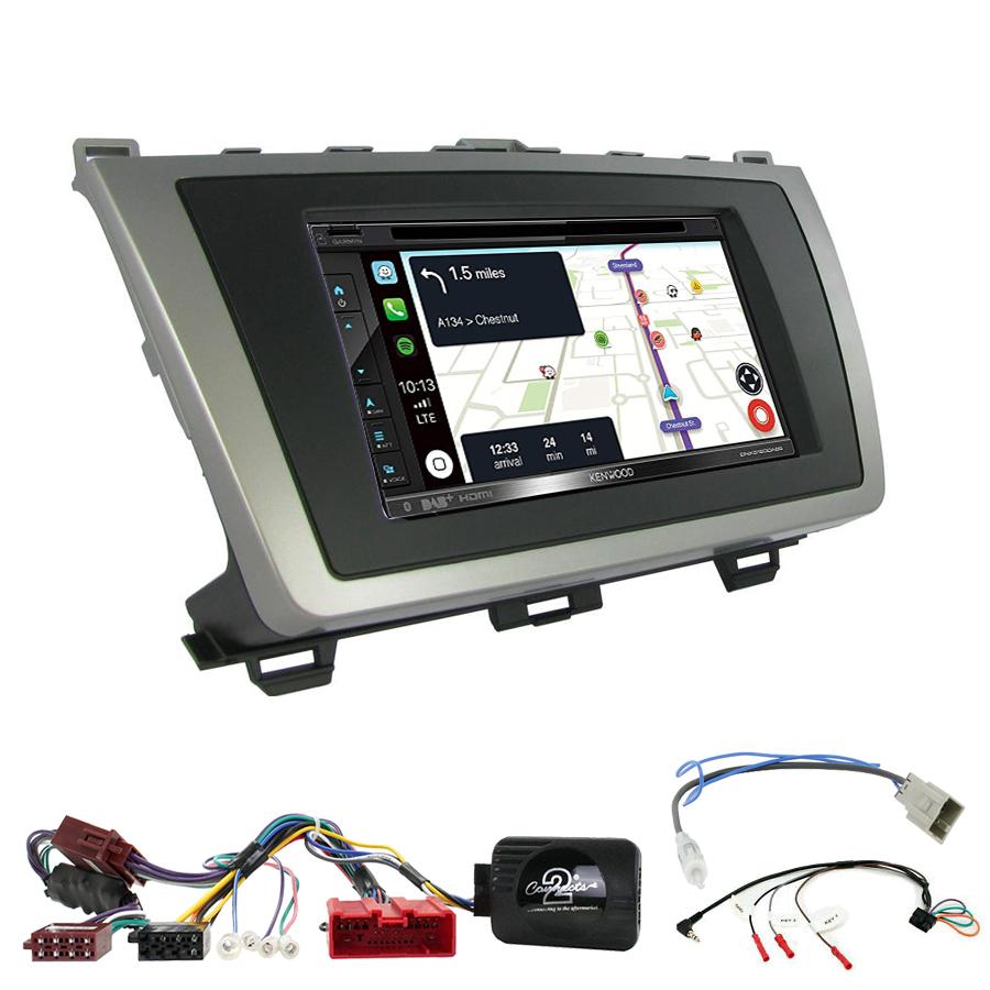 Kit d\'intégration Mazda 6 de 2008 à 2012 + Autoradio tactile Navigation GPS