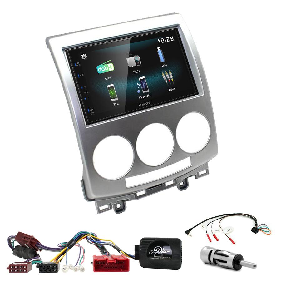 Kit d\'intégration Mazda 5 de 05/2005 à 03/2008 + Autoradio multimédia à écran tactile