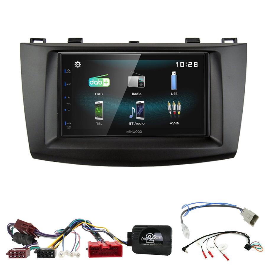 Kit d\'intégration Mazda 3 de 2009 à 10/2013 + Autoradio multimédia à écran tactile