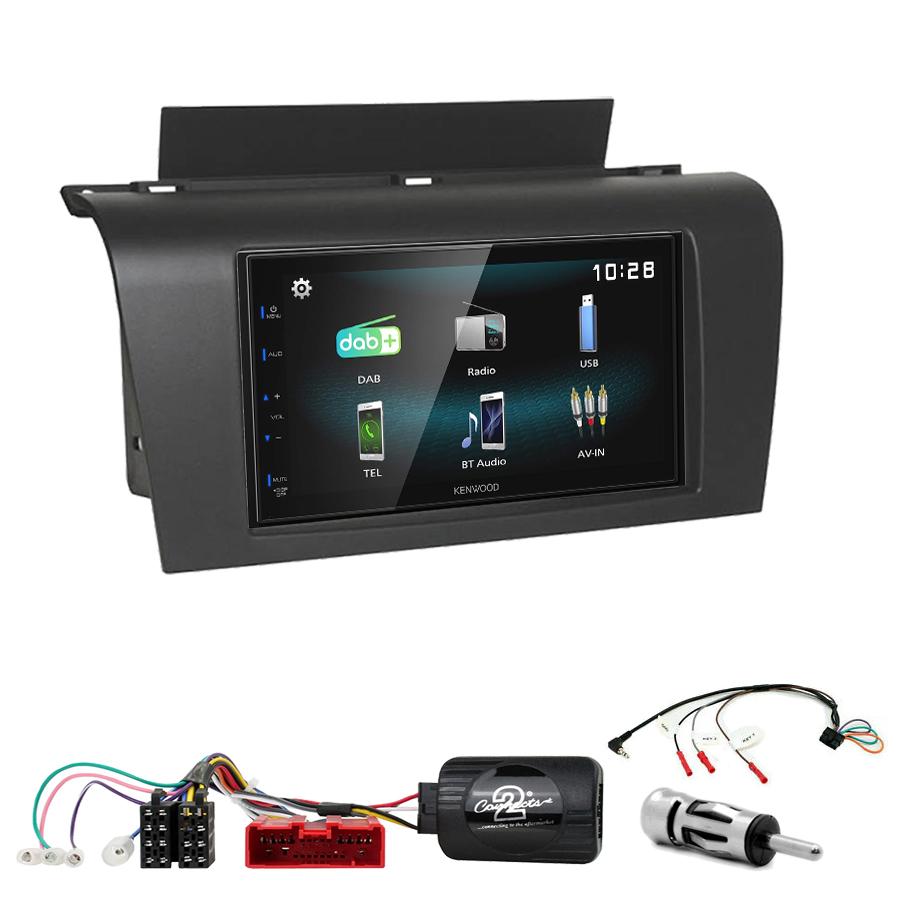 Kit d\'intégration Mazda 3 de 2003 à 2007 + Autoradio multimédia à écran tactile