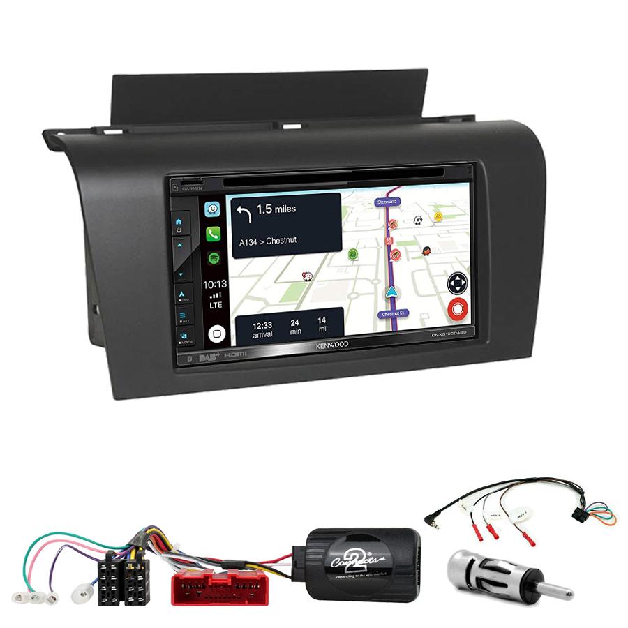 Kit d\'intégration Mazda 3 de 2003 à 2007 + Autoradio tactile Navigation GPS