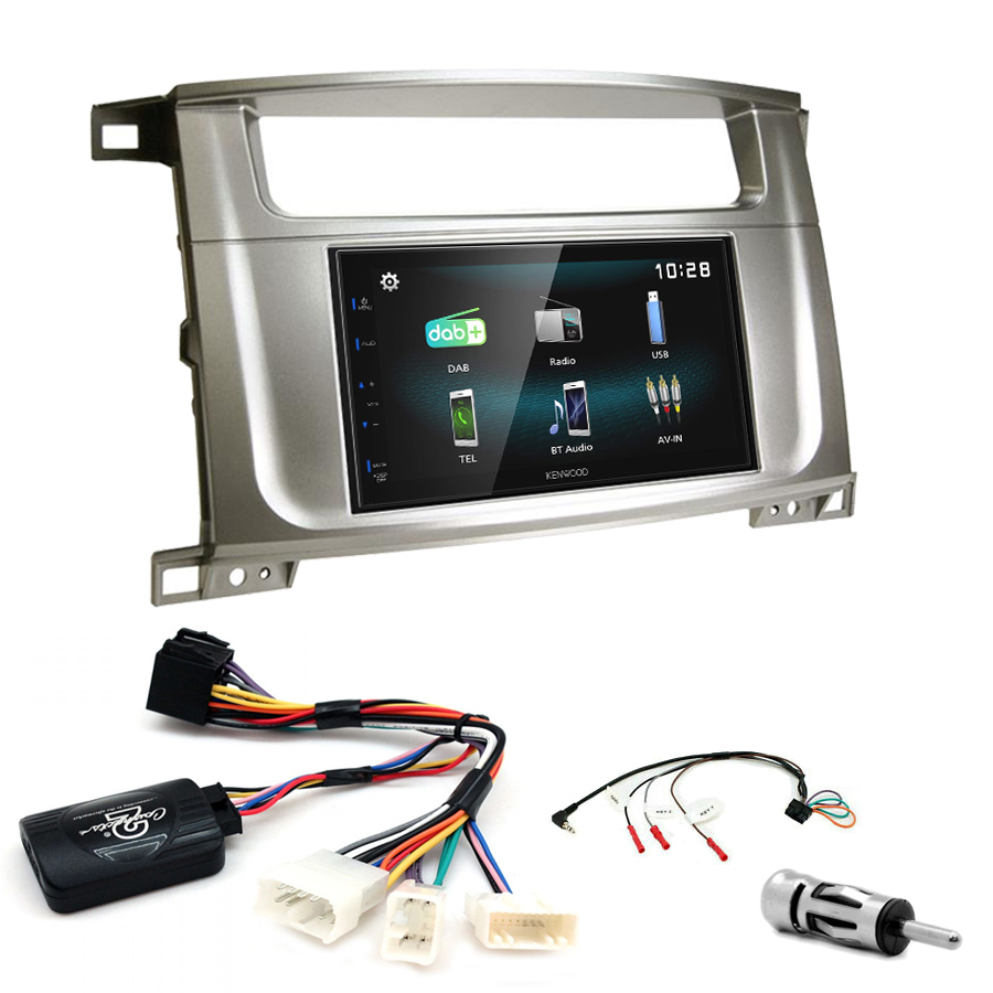 Kit d\'intégration Lexus LX-470 + Autoradio multimédia à écran tactile