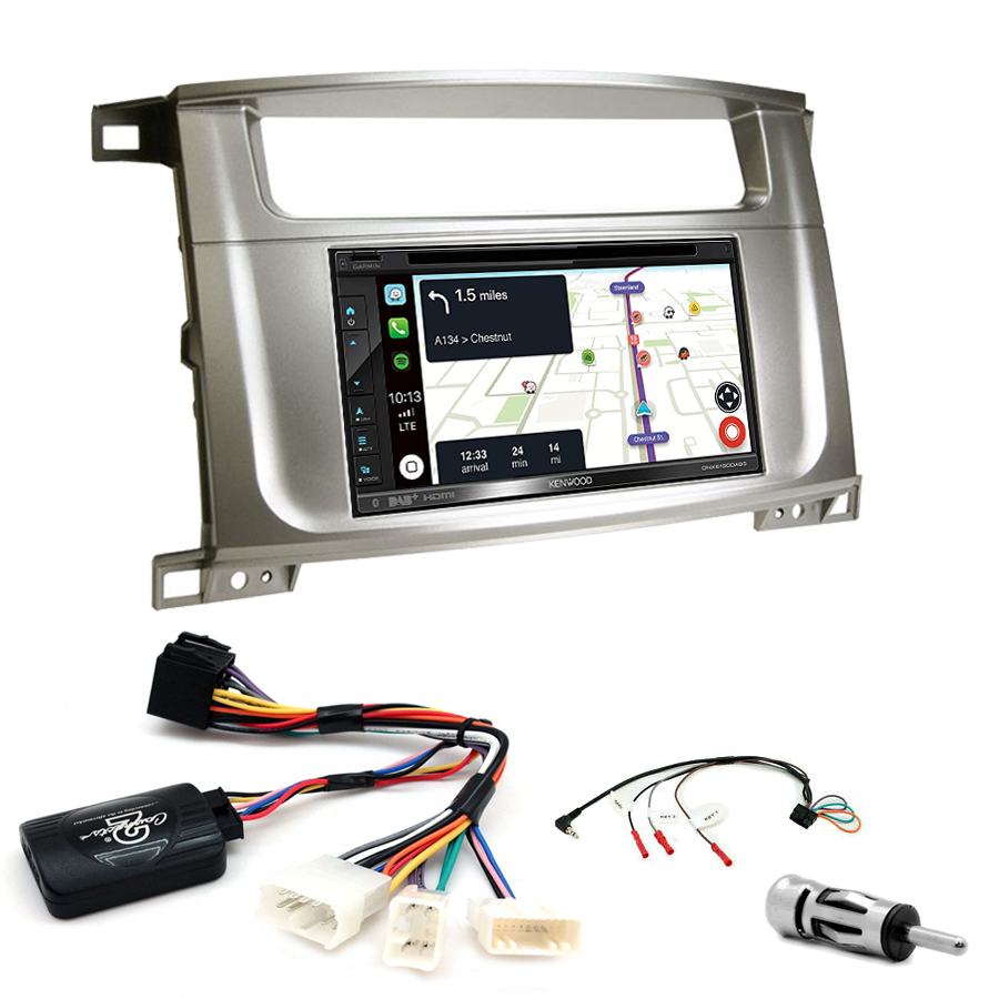 Kit d\'intégration Lexus LX-470 + Autoradio tactile Navigation GPS