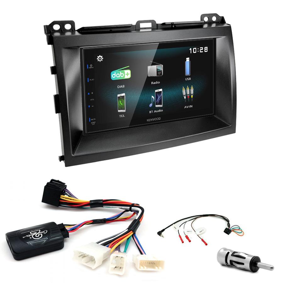 Kit d\'intégration Lexus GX-470 + Autoradio multimédia à écran tactile