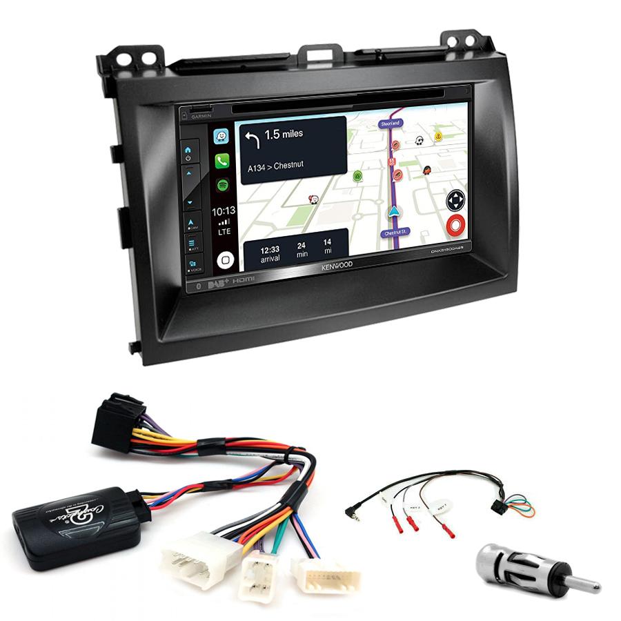 Kit d\'intégration Lexus GX-470 + Autoradio tactile Navigation GPS