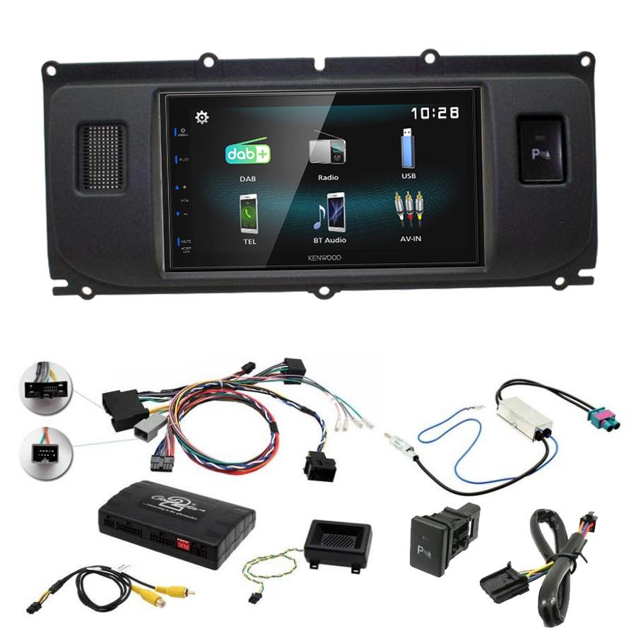 Kit d\'intégration Range Rover Evoque de 2011 à 2015 + Autoradio multimédia à écran tactile