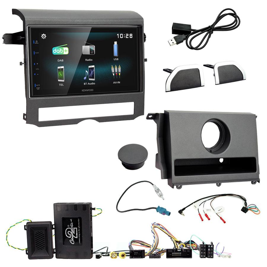 Kit d\'intégration Land Rover Discovery de 2009 à 2016 + Autoradio multimédia à écran tactile