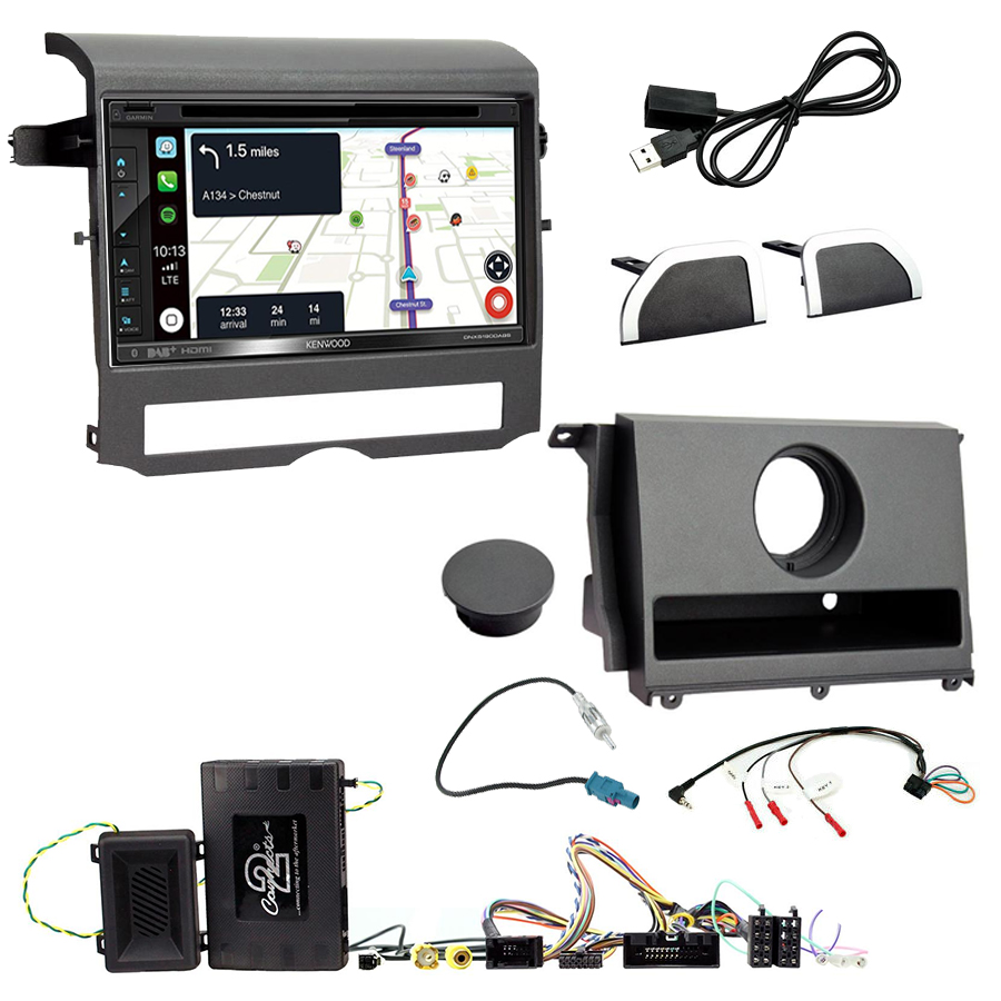 Kit d\'intégration Land Rover Discovery de 2009 à 2016 + Autoradio tactile Navigation GPS