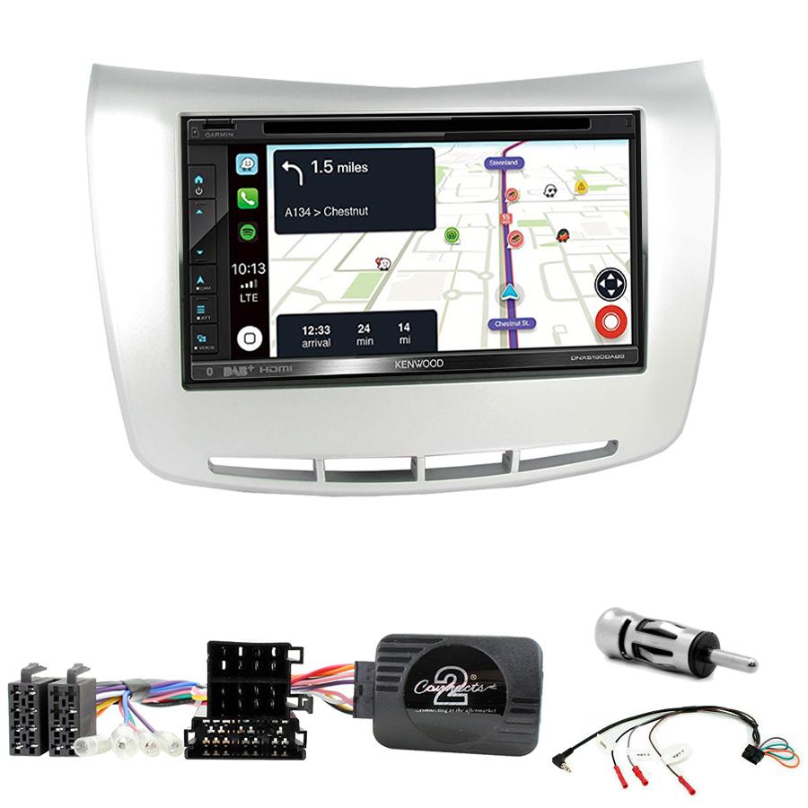 Kit d\'intégration Lancia Delta de 2009 à 2017 + Autoradio tactile Navigation GPS