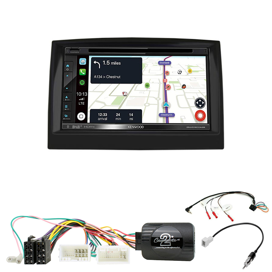 Kit d\'intégration Kia Sportage de 2016 à 2018 + Autoradio tactile Navigation GPS