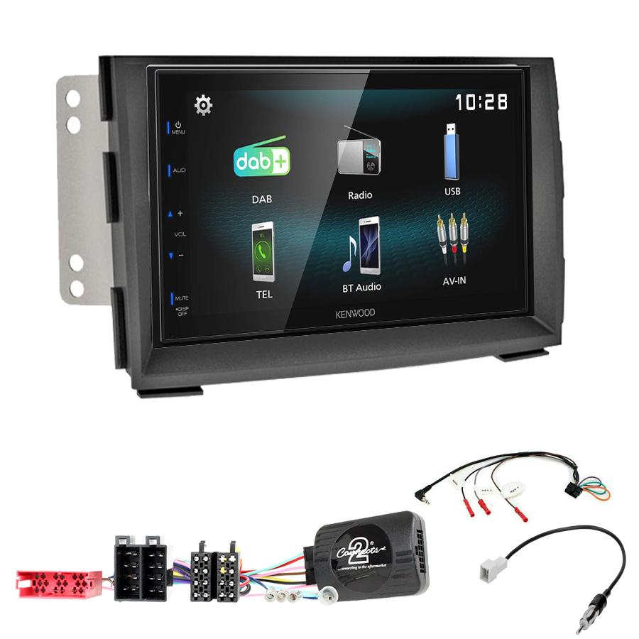 Kit d\'intégration Kia Venga de 2010 à 2015 + Autoradio multimédia à écran tactile