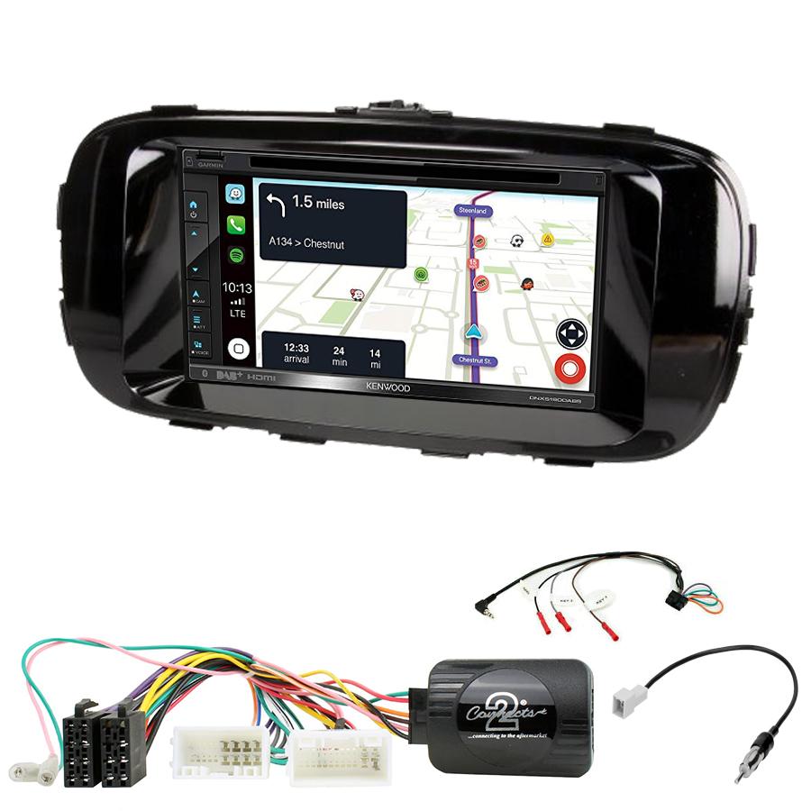 Kit d\'intégration Kia Soul de 2014 à 2018 + Autoradio tactile Navigation GPS
