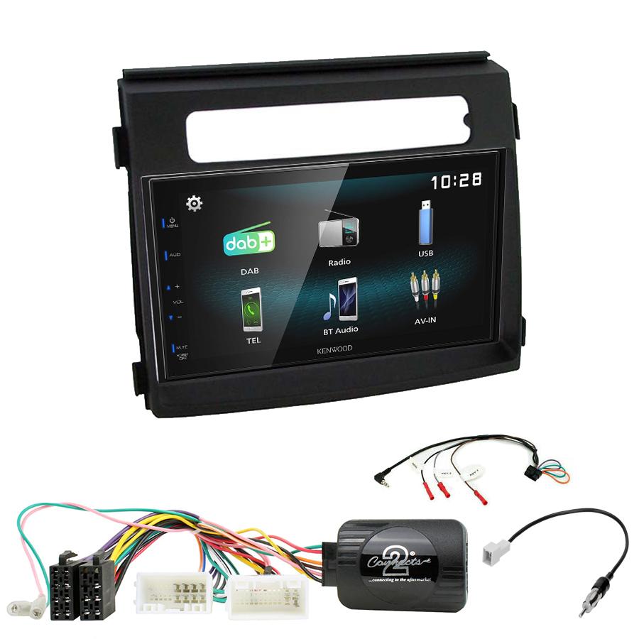 Kit d\'intégration Kia Soul de 10/2011 à 03/2014 + Autoradio multimédia à écran tactile